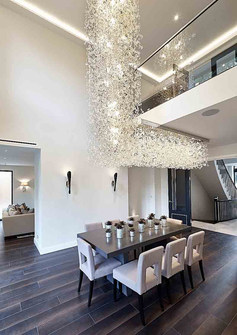 Sea Flowers Cascata - Contemporary Chandelier